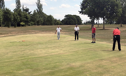 Torus & Hexagon compete in annual golf day