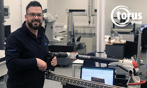 Torus amongst the first to achieve new UKAS Arm Standard