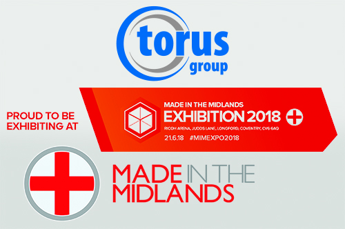 TORUS RETURN TO THE MADE IN THE MIDLANDS EXHIBITION