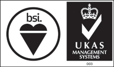 Accredited by BSI, UKAS, UKAS Calibration 773